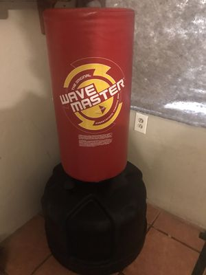 Barley used boxing equipment/boxing bag for Sale in Tucson, AZ