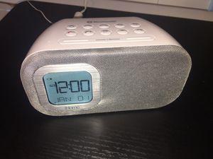 I home Bluetooth Alarm Clock/Radio for Sale in Douglasville, GA