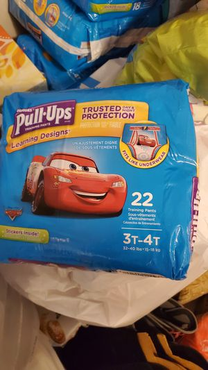 Brand new Huggies pull up size 3t-4t, 4t-5t, newborn size 1 for Sale in Staten Island, NY