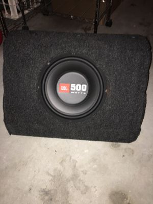 JBL Subwoofer and amp for Sale in Little Elm, TX