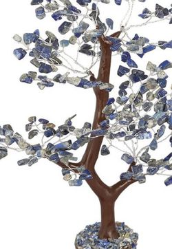 Lapis Lazuli Chakra Crystal Healing Stones Fengshui Tree 300 chips for Sale in Baltimore,  MD