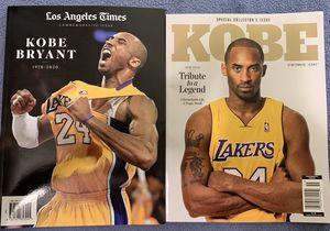 Kobe collectors edition tribute magazine for Sale in Puyallup, WA