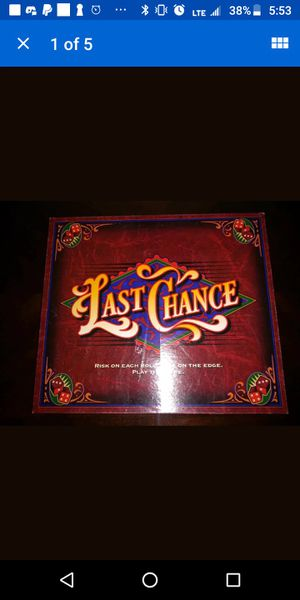 Last Chance Board Game 100% Complete Milton Bradley. for Sale in Houston, PA