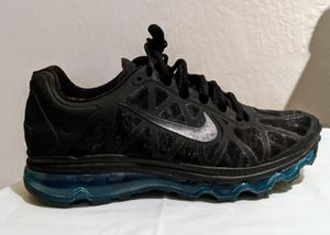 Nike Air Max Black with Teal/Blue sole for Sale in Livermore, CA