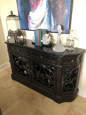 Marble top cabinet with drawers for Sale in Destin, FL