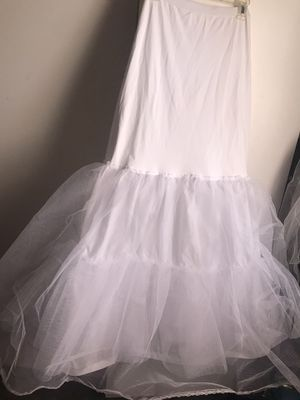 Dress/Gown Slip (Trumpet/A-Line slip) Wedding, Prom for Sale in Frederick, MD