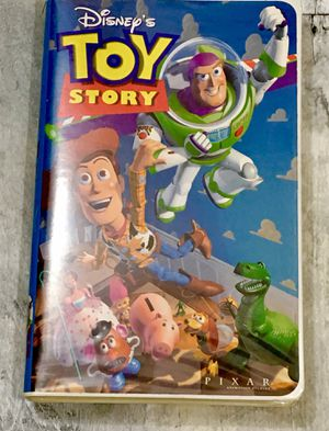 Walt Disney's Toy Story original VHS RARE COLLECTIBLE for Sale in Scottsdale, AZ