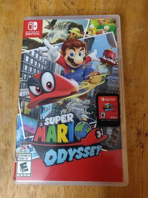 Super Mario Odyssey Nintendo Switch for Sale in Seattle, WA