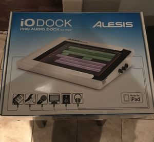 Alesis iODock Pro Audio Dock for iPad for Sale in Chicago, IL