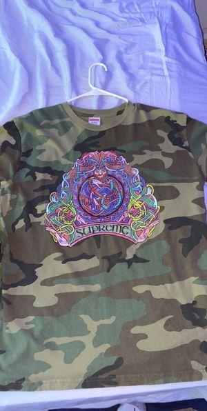 Supreme camo shirt for Sale in Puyallup, WA