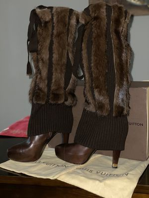 100% Authentic Louis Vuitton boots for Sale in Tampa, FL
