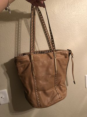 Tan faux leather purse for Sale in Citrus Heights, CA