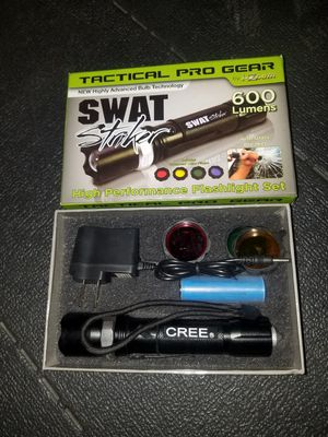 Swat Striker Rechargeable Tactical Light for Sale in San Gabriel, CA