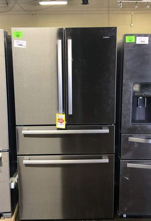 Brand New Bosch 800 Series 36 in. 21 cu. ft. French 4 Door Refrigerator in Stainless Steel with Dual Compressor, Counter-Depth (Model:B36CL80SNS) 1 for Sale in Dallas, TX