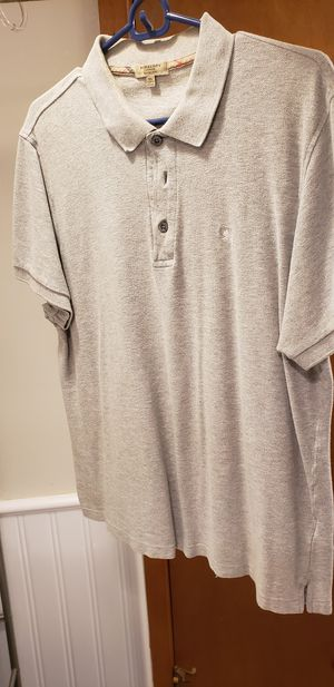 Burberry polo - XL slim fit grey polo shirt for Sale in St. Louis, MO