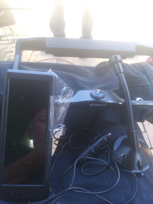 Type s solar powered back up camara