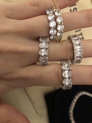 CZ rings/bracelet for Sale in Manassas Park, VA