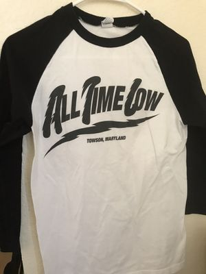 All Time Low Band Baseball Tee for Sale in Aurora, CO