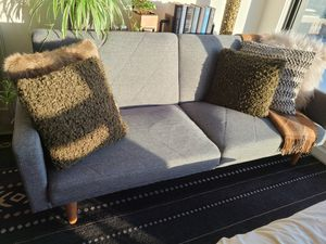 Split Back Convertible Sofa Futon for Sale in Portland, OR