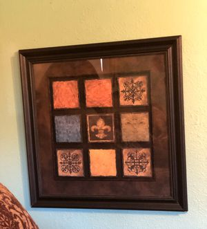 Fleur de lis wall decor for Sale in Fort Worth, TX