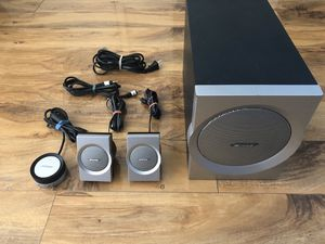 Bose Companion 3 Series I Multi Media Computer Speakers System for Sale in Fremont, CA