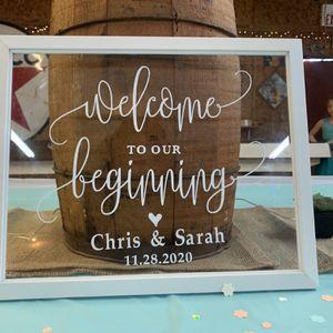 Wedding Memory Frame for Sale in Houston, TX