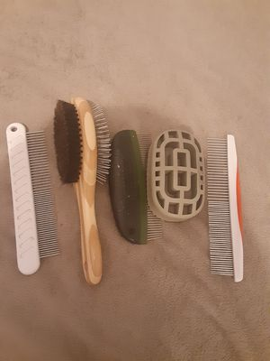 Dog brushes for Sale in Wichita, KS