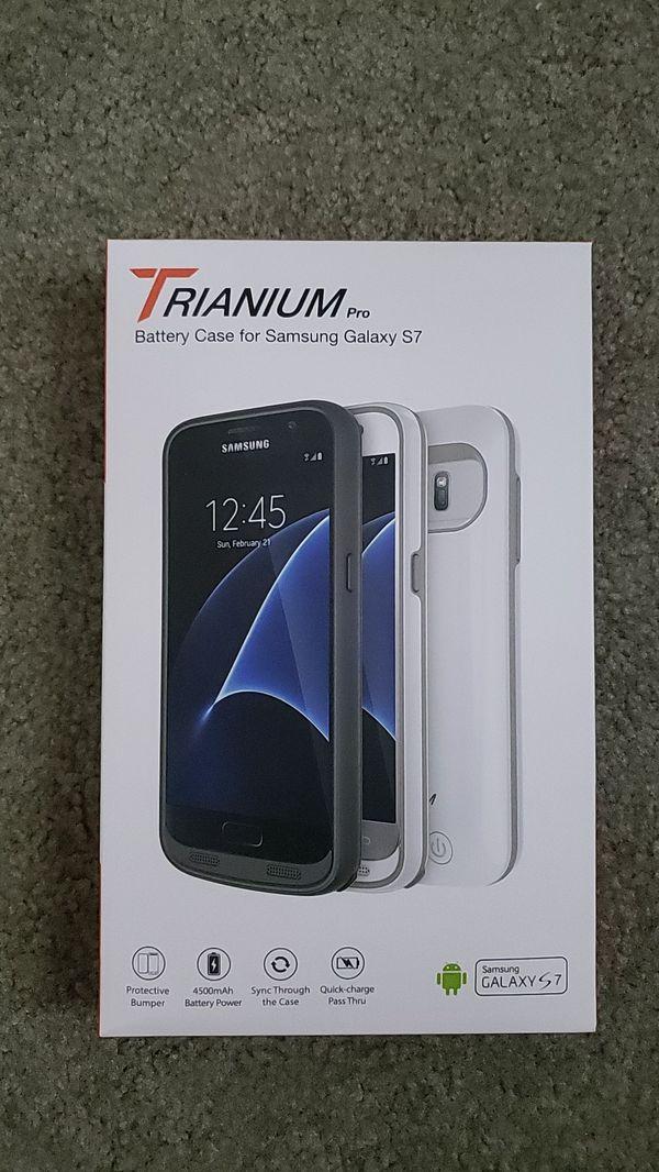 Trianium Battery Case for Samsung Galaxy S7