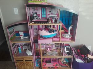 Huge barbie house for Sale in Carmichael, CA