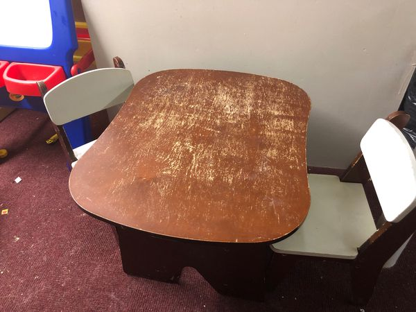 FREE - children's table and two small chairs