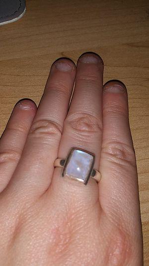 Silver Moonstone Ring for Sale in Powder Springs, GA