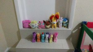 Pokemon and My little Pony Plushies for Sale in Miami, FL
