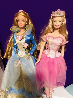 Rapunzel and Nutcracker Barbie's for Sale in Garland, TX