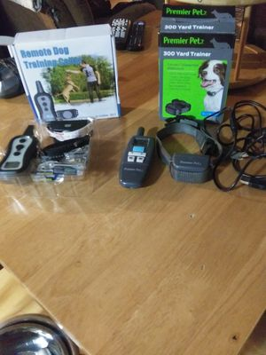 Dog training collars $70 for both for Sale in Carnesville, GA