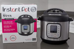 Instant Pot Duo Nova 3 quart 7-in-1 One-Touch Multi-Use Programmable Pressure Cooker with New Easy Seal Lid – Latest Model for Sale in Washington, DC