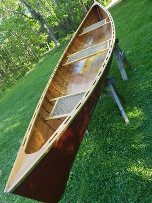 Handmade 16' canoe for Sale in Orono, ME