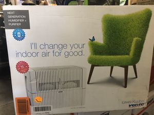 Venta LW45 Airwasher 2-in-1 Humidifier and Air Purifier in White for Sale in Rancho Cucamonga, CA