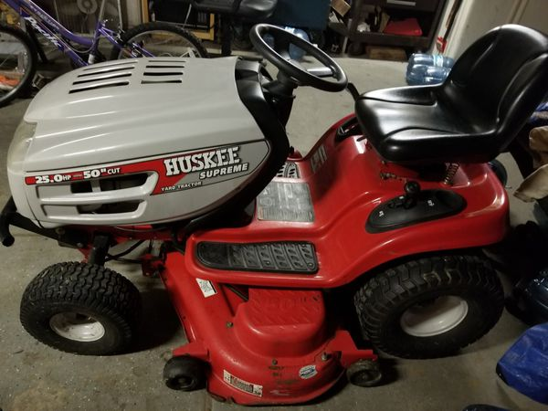 25 hp huskee lawn tractor for Sale in Fraser, MI - OfferUp