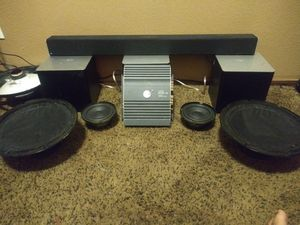 Pro pyle drivers planet audio amp bose speakers for Sale in Glendale, AZ
