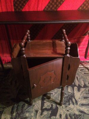 Antique solid wood desk stand for Sale in Washington, DC