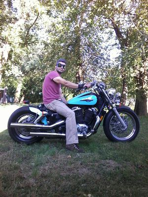 Motorcycle Honda shadow 1100cc 1996 for Sale in Yardley, PA