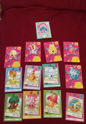 Shopkins collector cards for Sale in Pittsburg, CA