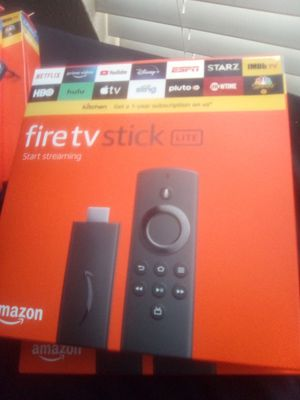 Fire TV Stick Lite | Live TV • Movies • Shows • Sports •Etc for Sale in Arlington, TX