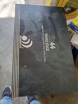 massive ex 44 nano edge 4channel amplifier for Sale in Fort Worth, TX