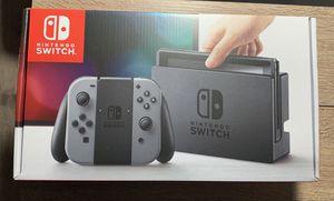 New in Box, Nintendo Switch 32GB w/Gray Joy-Con for Sale in Seattle, WA