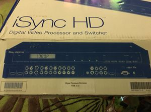 Key Digital(R) Introduces iSync HD(TM) and iSync Pro(TM), Digital Video Processor and Video/Audio Switcher Combo for Sale in Lynnwood, WA