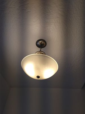 Entry light brushed nickel for Sale in Eagle Mountain, UT