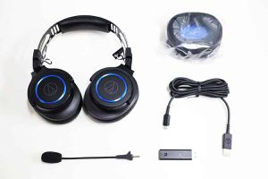 audio‑technica ATH-G1WL headphones for Sale in Spring Valley, CA