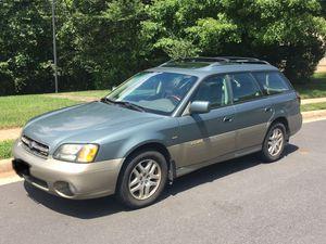 2002 Subaru Outback VDC H6.3.0 AWD for Sale in Sterling, VA