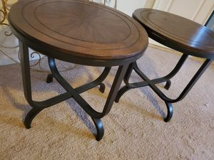 Beautiful round table with two end Tables for Sale in Germantown, MD